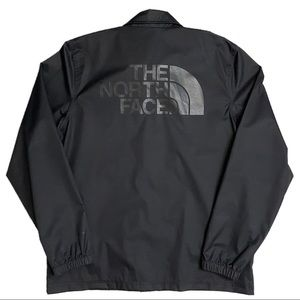 The North Face Black Snap-Up Coaches Track / Rain Jacket - L